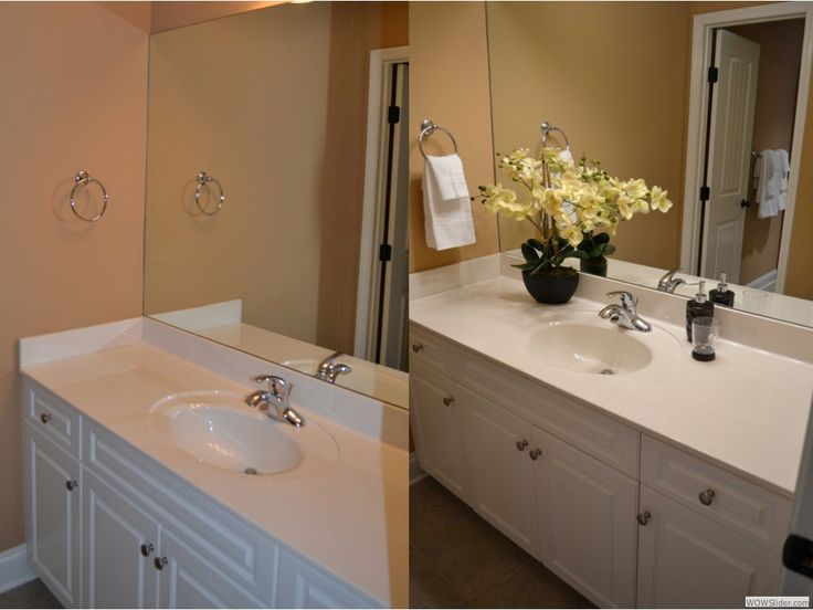 Staging a bathroom crafty home ideas pinterest for Real simple bathroom ideas