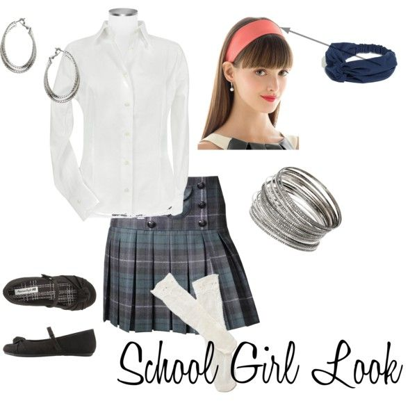School Girl Look, created by dhouse81