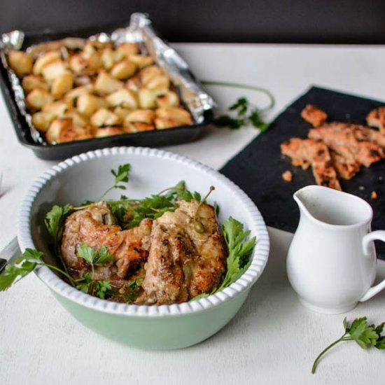 Pork Braised In Milk & Fresh Herbs | Maiale Al Latte ...