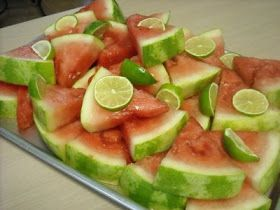 Tequila Soaked Watermelon | Beverages Worth CHEERS! | Pinterest