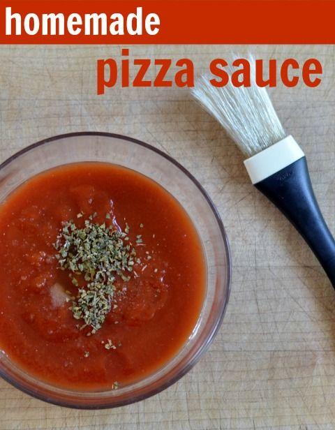 Easy Homemade Pizza Sauce