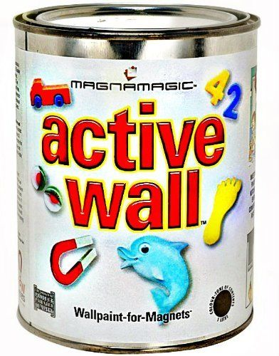 MagnaMagicActive Wall Magnetic Wall Paint - One