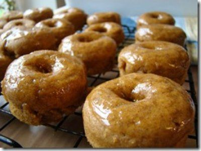 Pumpkin Spice Doughnuts | Fall Crafts and Food | Pinterest