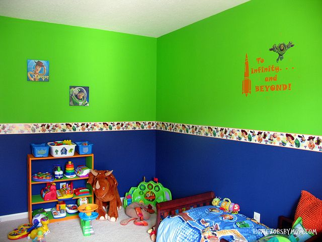 Toy Story Room Decor And Paint Ideas Inside Inspertaions