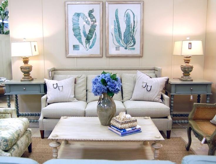 Beach living room decor home decor pinterest for Beach house living room decor