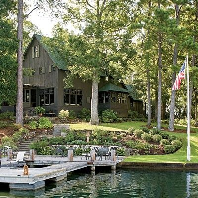 Beautiful lake house homes pinterest for Lakehouse homes