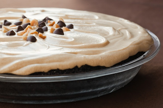 Smooth And Creamy Peanut Butter Pie Recipe — Dishmaps