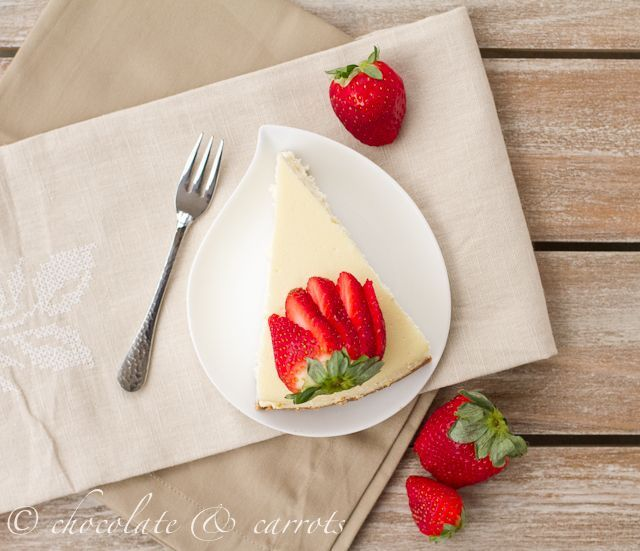 Cheesecake supreme: healthiest & moistest cheesecake ever. Made with ...