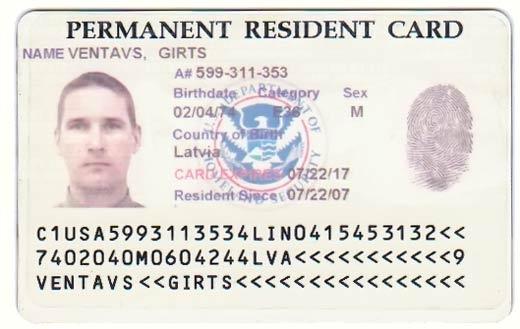 Green Card Diversity Visa sample | Dream Act | Pinterest