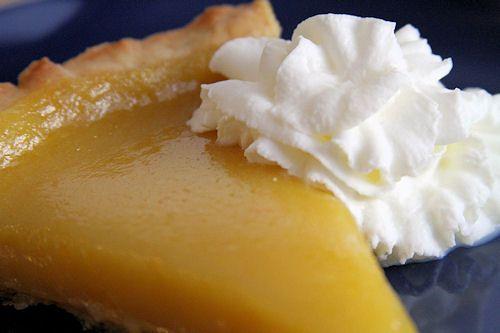 Meyer LemonTart with Buttery Almond Shortbread Crust