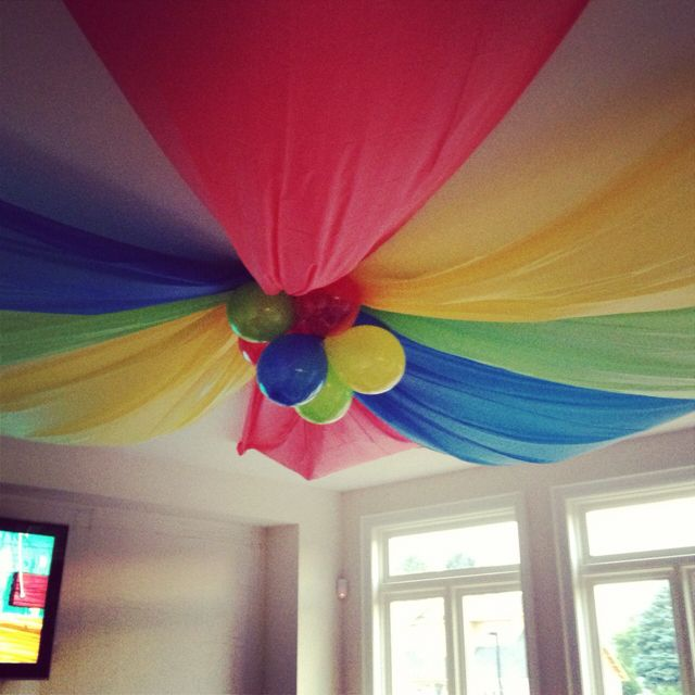 party ceiling decoration party ideas pinterest