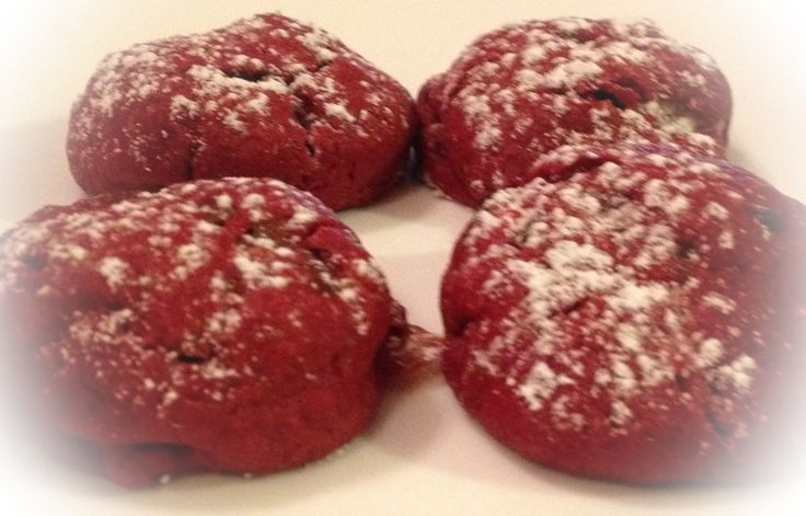 Red Velvet Milky Way Cake Cookies Ingredients 1 Box Red Velvet Cake ...