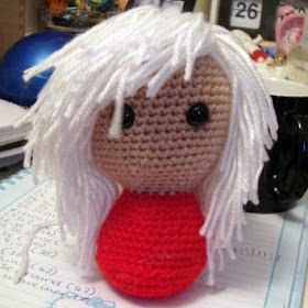 Crochet Hair Amigurumi : Tutorial: Amigurumi Hair Amigurimi Pinterest