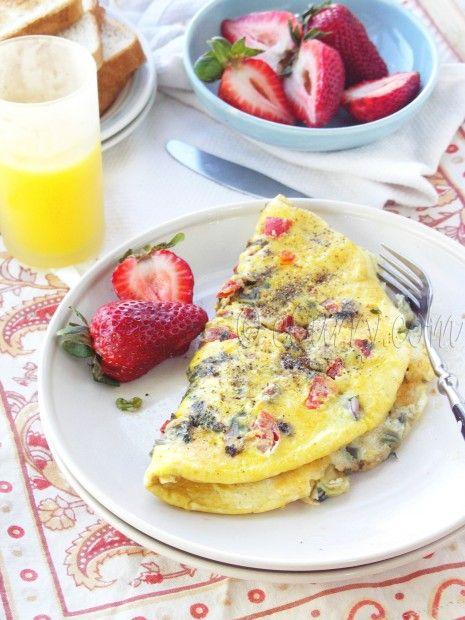 Indian Omelet | Breakfast | Pinterest