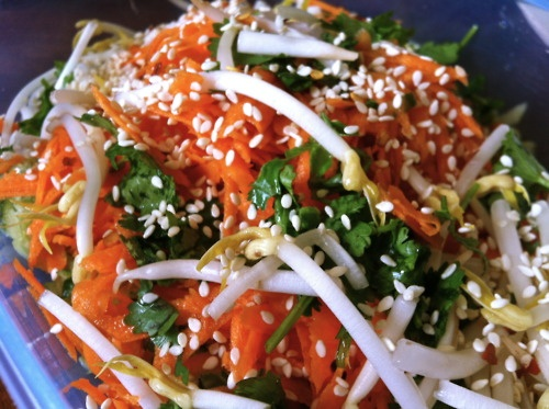 vietnamese vegetarian salad. | yum | Pinterest