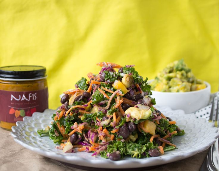 Mango Guacamole Salad