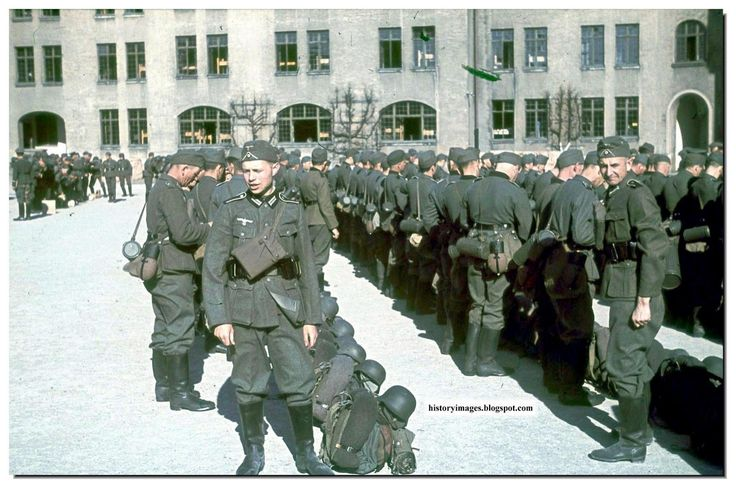 Fotos coloridas da Segunda Guerra Mundial