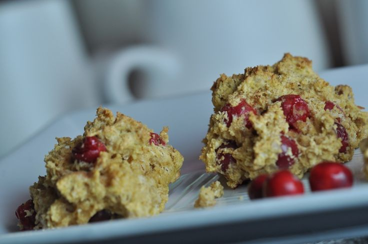 gluten free pumpkin-cranberry scones | Gluten Free Recipes | Pinterest