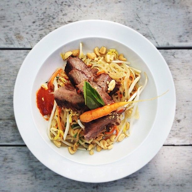 sliced beef with glass noodles | Cool HFX Local | Pinterest