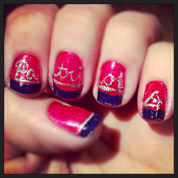 Nail Designs For Patriots ~ New england patriots nail art gallery