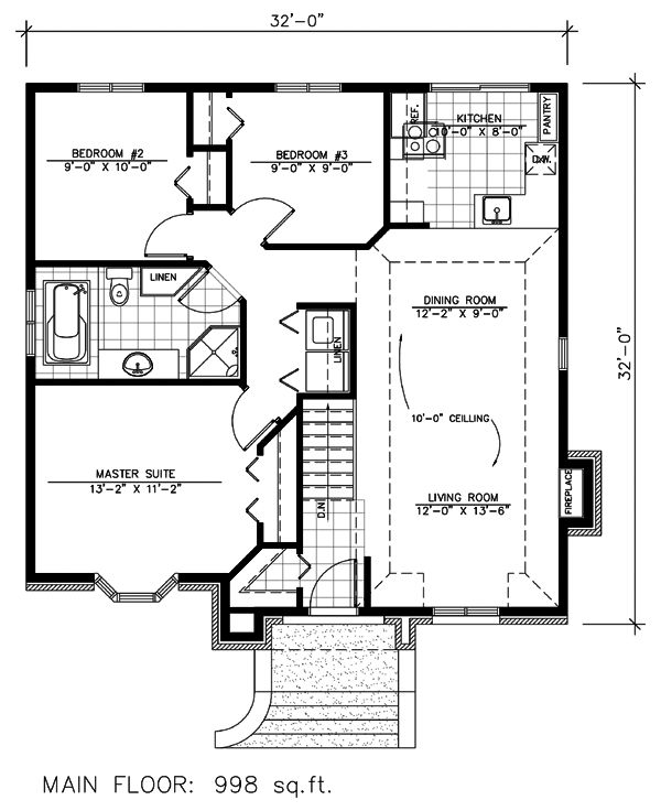 32x32 house plans joy studio design gallery best design for 32 x 40 home plans