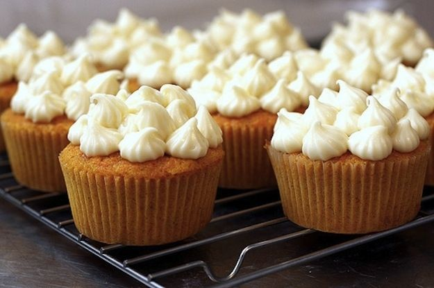 Carrot Cake Cupcakes With Maple Cream Cheese Frosting | 57 Magical ...