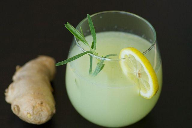 Sparkling Rosemary-Ginger Lemonade | Dream Home | Pinterest