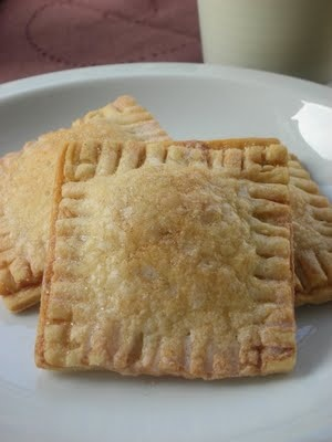 Nutella Toaster Tarts - I think I'll make them with turkey and spinach ...