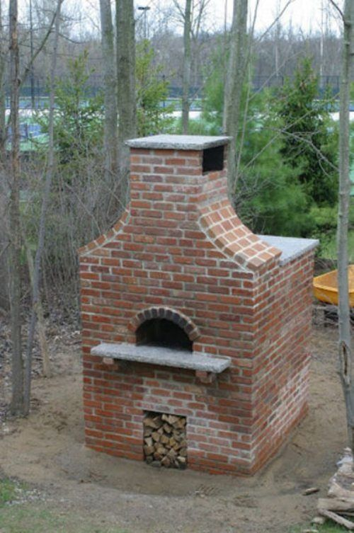 Building Outdoor Brick Pizza Oven Ideas For My Yard Pinterest