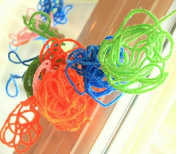 Diy yarn crafts diy crafts diy simple yarn craft for kids a circle