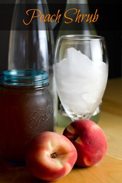 Peach Shrub | Recipe
