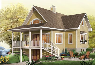 Walk Out Basement House Plans Pinterest
