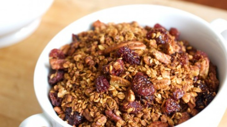 Cherry Pecan Granola   Dee-licious!   Pinterest