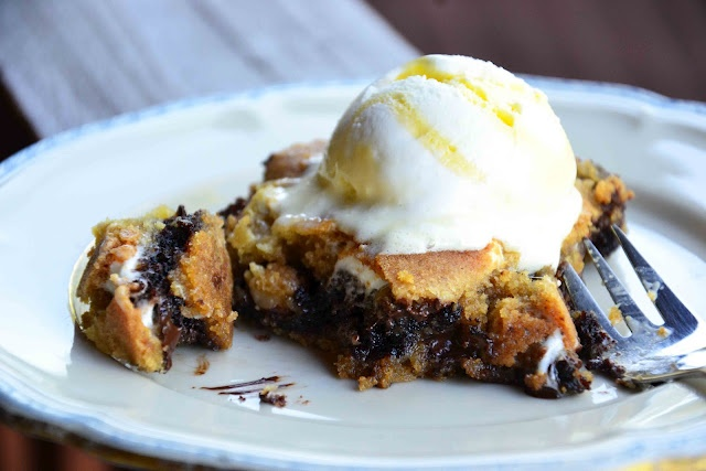 Brownie-Stuffed S'mores Bars   Recipes ~ Sweets + Treats   Pinterest