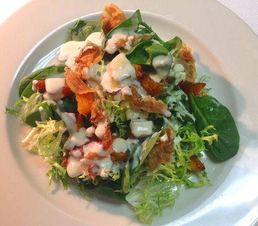 Roasted Pumpkin Salad | Salads | Pinterest