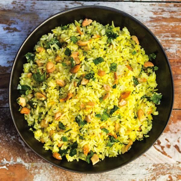 "SAFFRON CASHEW RICE RECIPE: ~ From: ""Something Extra-Raley's.Com ..."