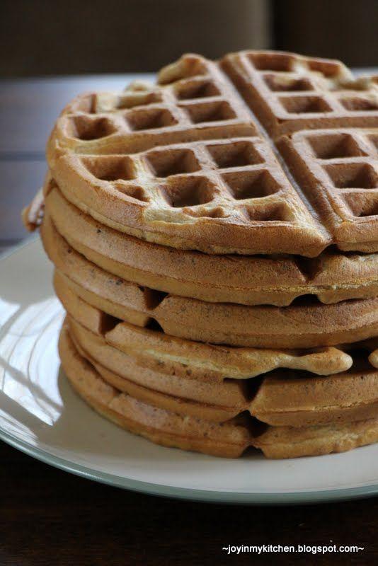 Whole Wheat Waffles | Breakfast recipes | Pinterest