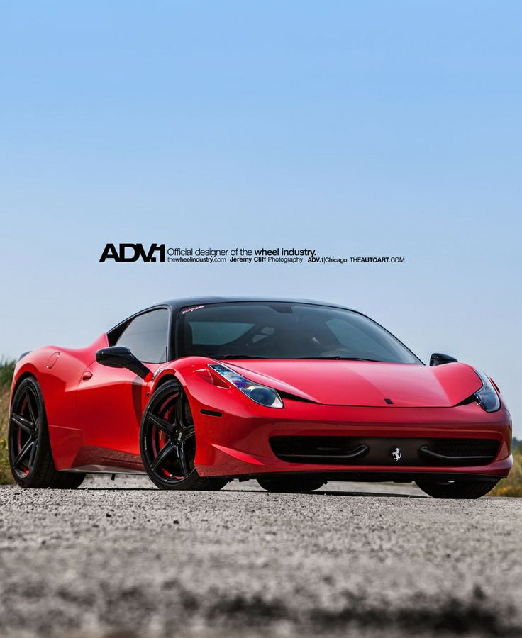Ferrari 458 Italia ADV.1 Wheels | Supercar | Pinterest