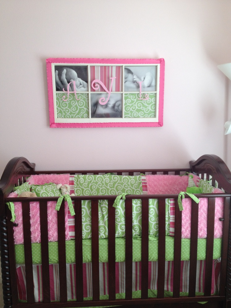 Window frame decor above crib my recipes pinterest for Above the crib decoration ideas