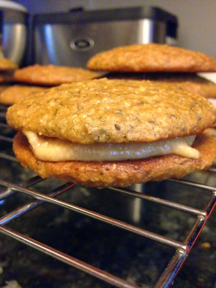 ... : Peanut Butter Oatmeal Cookies with a Special Peanut Butter Filling