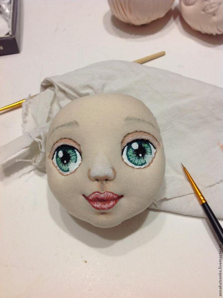 Куклы своими руками нарисовать лицо 999