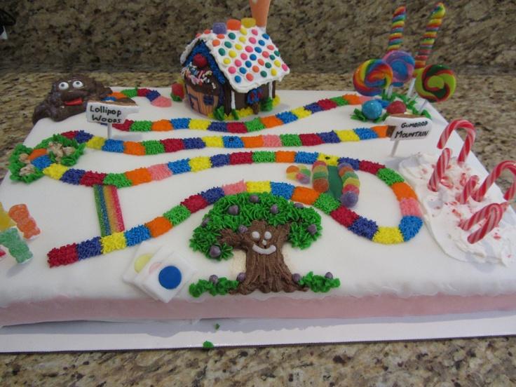 Candyland Cake Clever Ideas Pinterest