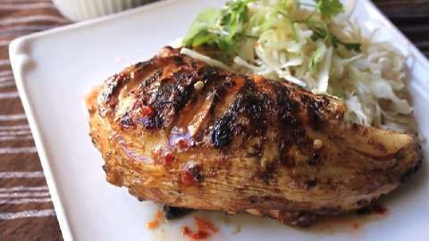 Five Spice Grilled Chicken Allrecipes.com..sounds good but basting ...