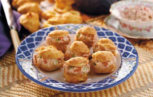 Deviled Ham Puffs | Appetizers/Dips/Drinks | Pinterest