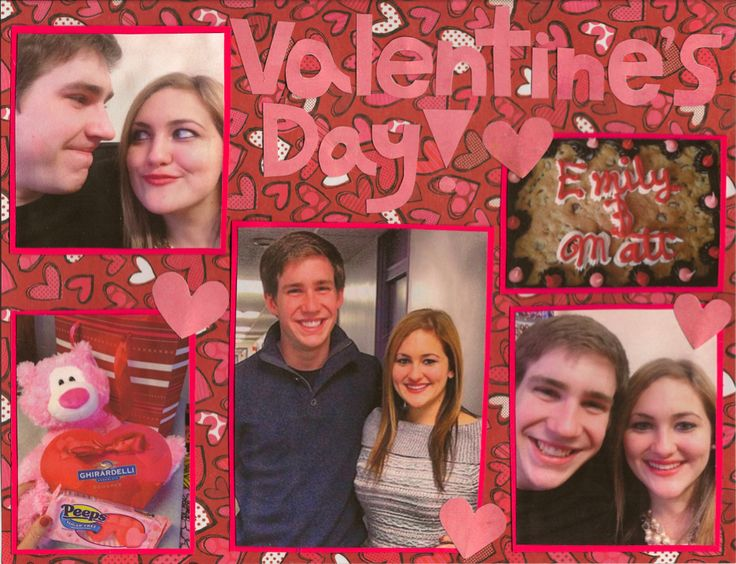 valentine's day scrapbook ideas