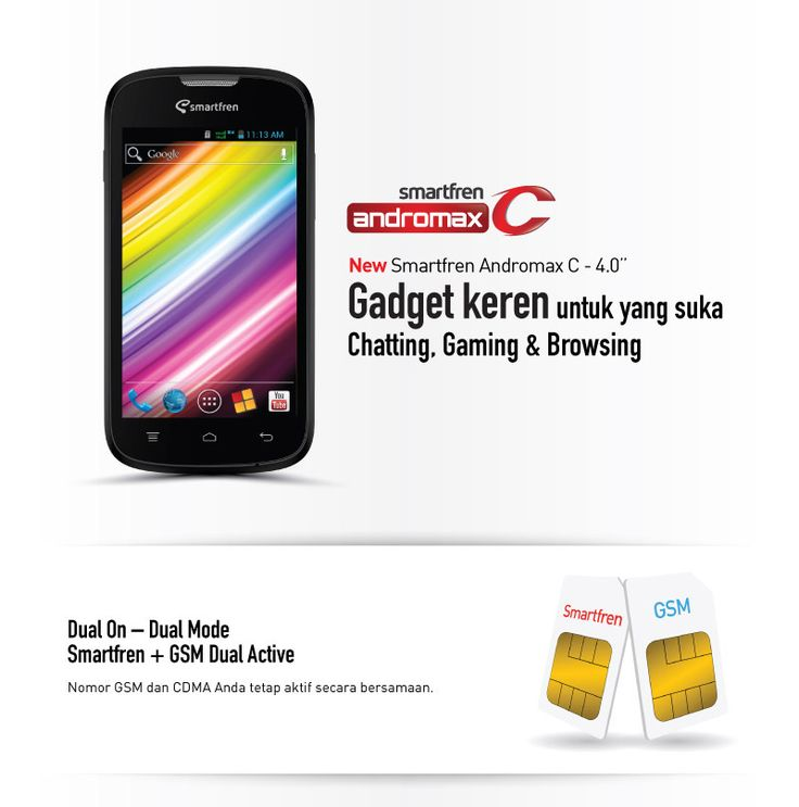 Smartfren | Smartfren Andromax C | Toko Kelonthong | Pinterest