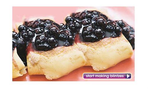 How to Make Blueberry Blintzes | Favorite Recipes | Pinterest