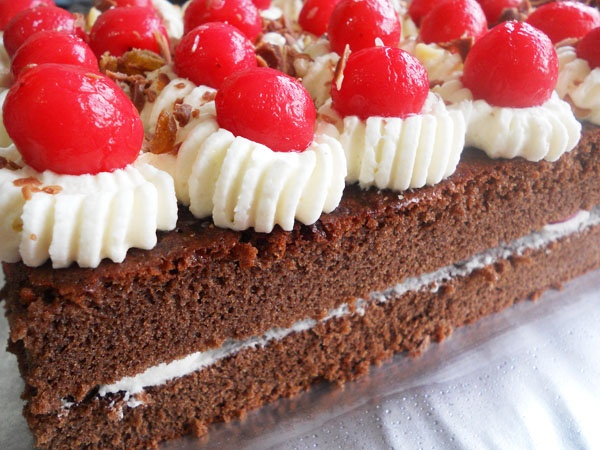 Black Forest Cake..... | Easy Cakes, Cookies, Bars, Muffins.... | P ...