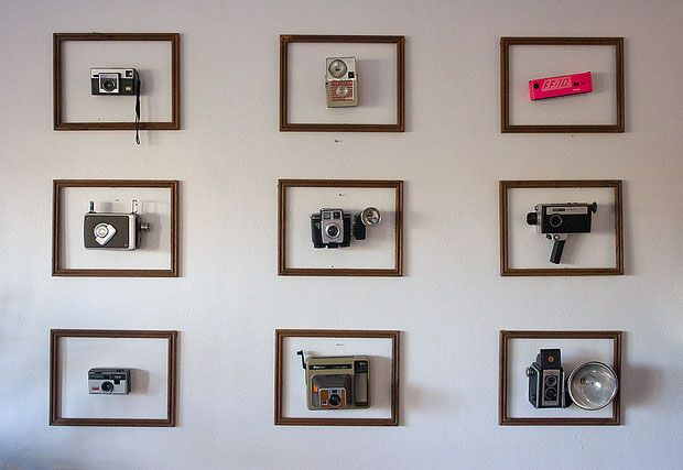 I want to do this with my dad's camera collection.