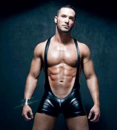 from Jayson leather hung gay men
